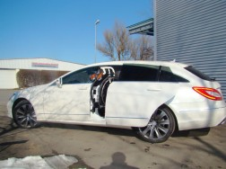 Der LADEBOY S2 im Mercedes Shotingbrake